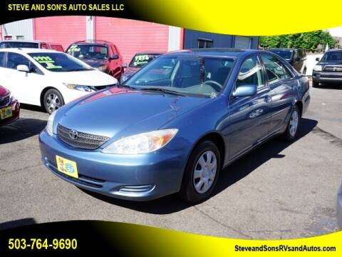 2004 Toyota Camry for sale at Steve & Sons Auto Sales in Happy Valley OR
