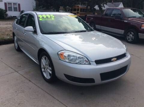 2012 Chevrolet Impala for sale at Harrison Family Motors in Topeka KS