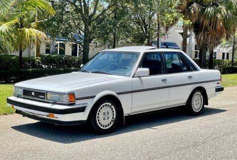 1988 Toyota Cressida for sale at VE Auto Gallery LLC in Lake Park FL