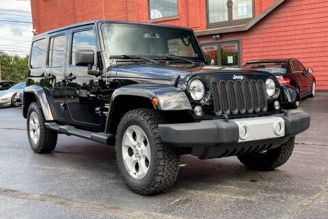 2014 Jeep Wrangler Unlimited for sale at Knighton's Auto Services INC in Albany NY
