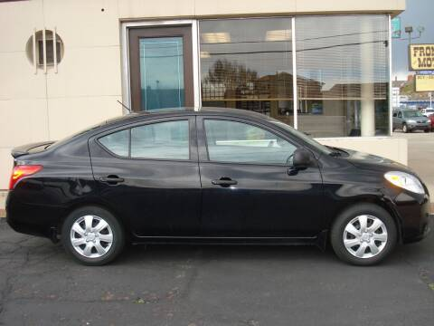 2013 Nissan Versa for sale at Frontier Motors Ltd in Colorado Springs CO