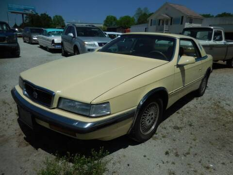 1989 Chrysler TC for sale at Classic Cars of South Carolina in Gray Court SC