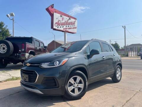 2017 Chevrolet Trax for sale at Southwest Car Sales in Oklahoma City OK