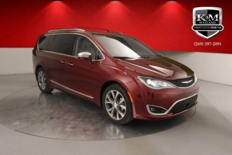 2017 Chrysler Pacifica for sale at K&M Wayland Chrysler  Dodge Jeep Ram in Wayland MI