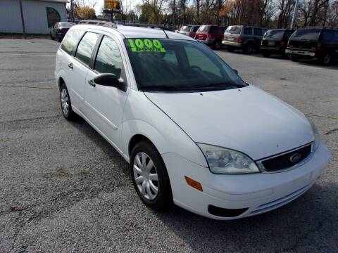 2006 Ford Focus for sale at Car Credit Auto Sales in Terre Haute IN