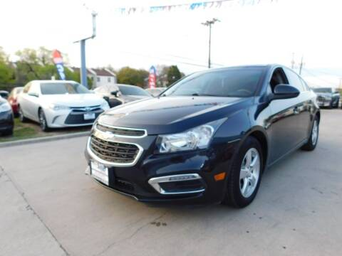 2015 Chevrolet Cruze for sale at AMD AUTO in San Antonio TX