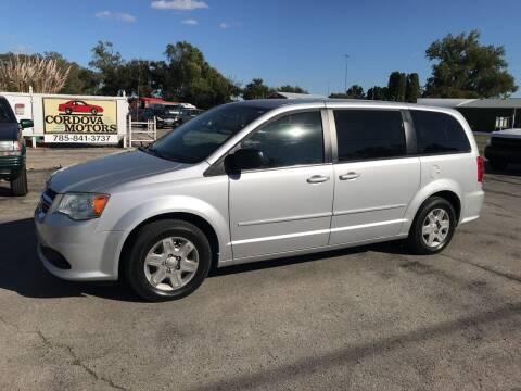 2012 Dodge Grand Caravan for sale at Cordova Motors in Lawrence KS