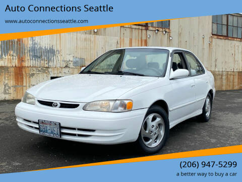 1999 Toyota Corolla for sale at Auto Connections Seattle in Seattle WA