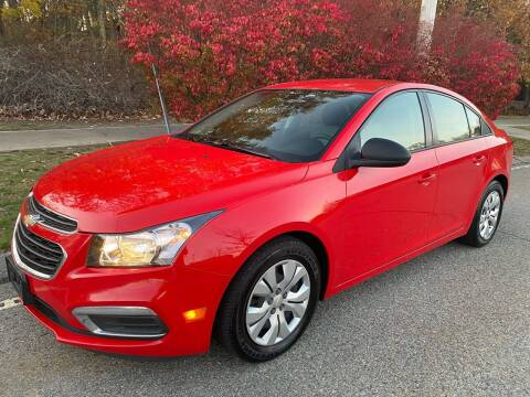 2015 Chevrolet Cruze for sale at Padula Auto Sales in Braintree MA