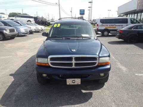 2003 Dodge Durango for sale at East Carolina Auto Exchange in Greenville NC