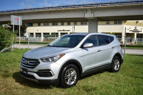 2018 Hyundai Santa Fe Sport for sale at ELITE MOTOR CARS OF MIAMI in Miami FL