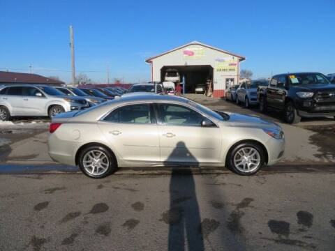 2014 Chevrolet Malibu for sale at Jefferson St Motors in Waterloo IA