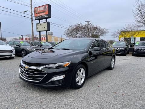 2019 Chevrolet Malibu for sale at Autohaus of Greensboro in Greensboro NC