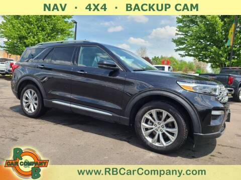 2020 Ford Explorer for sale at R & B Car Company in South Bend IN