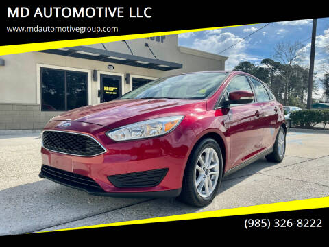 2017 Ford Focus for sale at MD AUTOMOTIVE LLC in Slidell LA