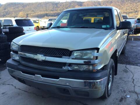 2004 Chevrolet Silverado 1500 for sale at Troys Auto Sales in Dornsife PA