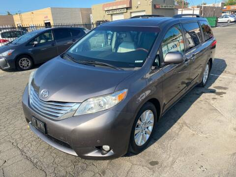 2011 Toyota Sienna for sale at 101 Auto Sales in Sacramento CA