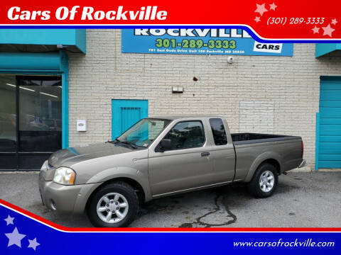 2003 Nissan Frontier for sale at Cars Of Rockville in Rockville MD