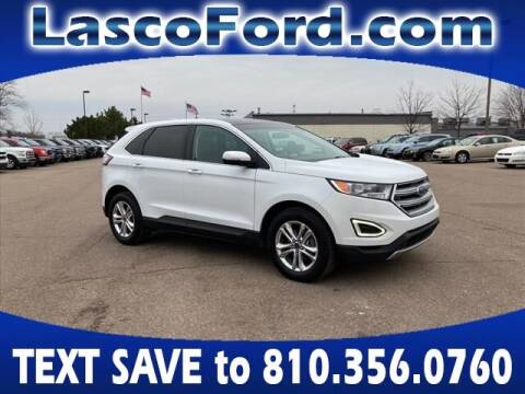 2016 Ford Edge for sale at LASCO FORD in Fenton MI