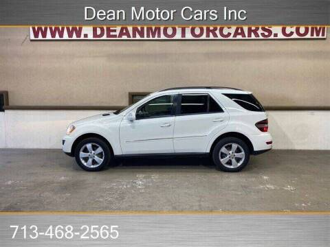 2009 Mercedes-Benz M-Class for sale at Dean Motor Cars Inc in Houston TX