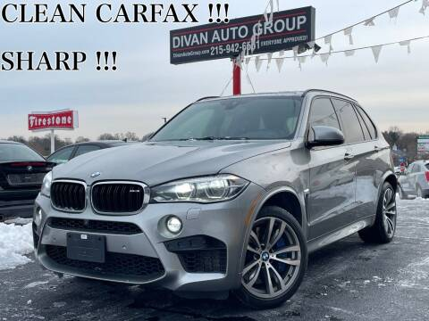 2016 BMW X5 M for sale at Divan Auto Group in Feasterville PA