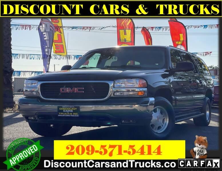 2003 GMC Yukon XL for sale at Discount Cars & Trucks in Modesto CA
