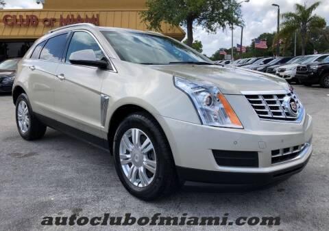 2015 Cadillac SRX for sale at AUTO CLUB OF MIAMI in Miami FL