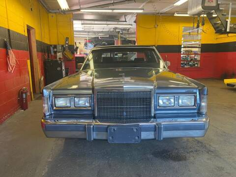 1988 Lincoln Town Car for sale at Milford Automall Sales and Service in Bellingham MA