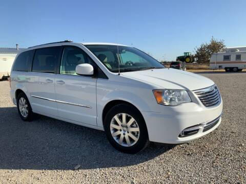 2016 Chrysler Town and Country for sale at Double TT Auto in Montezuma KS