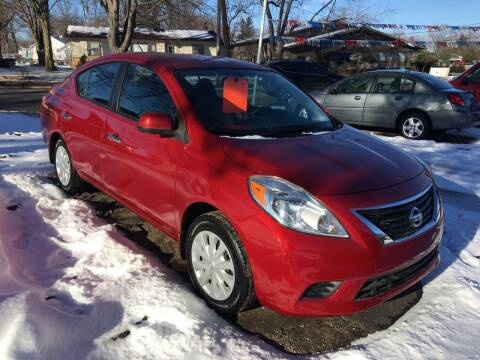 2012 Nissan Versa for sale at Antique Motors in Plymouth IN