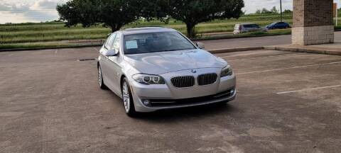 2012 BMW 5 Series for sale at America's Auto Financial in Houston TX