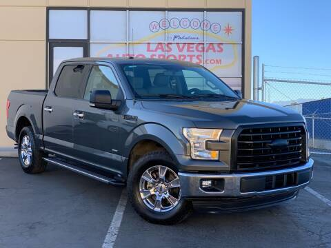 2016 Ford F-150 for sale at Las Vegas Auto Sports in Las Vegas NV