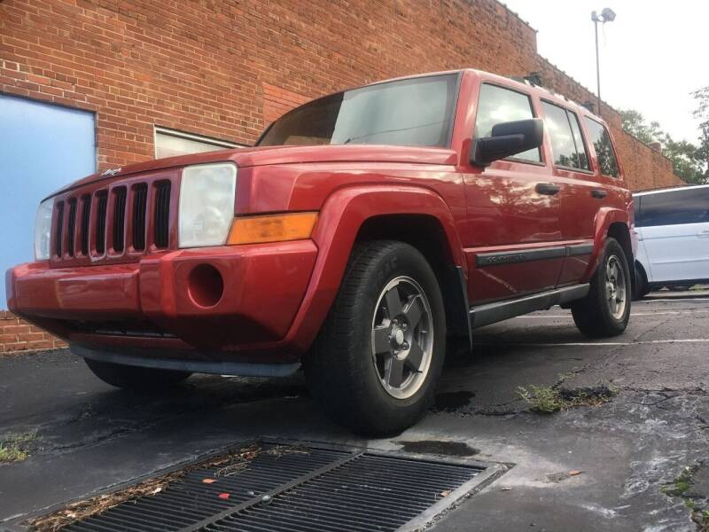 2006 Jeep Commander for sale at Bavarian motor Group LLC in Dothan AL