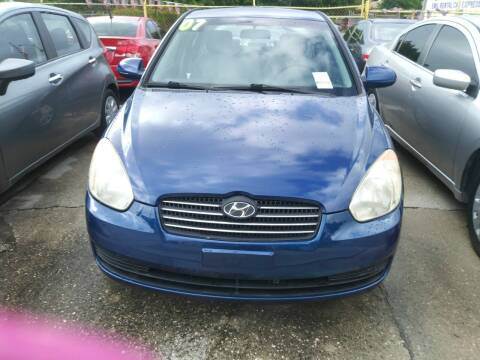 2007 Hyundai Accent for sale at Dulux Auto Sales Inc & Car Rental in Hollywood FL