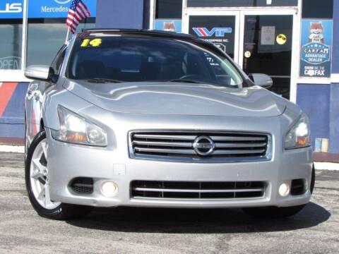 2014 Nissan Maxima for sale at VIP AUTO ENTERPRISE INC. in Orlando FL