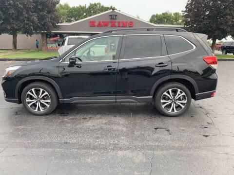 2019 Subaru Forester for sale at Hawkins Motors Sales in Hillsdale MI