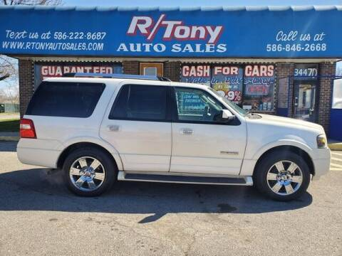 2007 Ford Expedition for sale at R Tony Auto Sales in Clinton Township MI