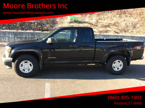 2005 Chevrolet Colorado for sale at Moore Brothers Inc in Portland CT