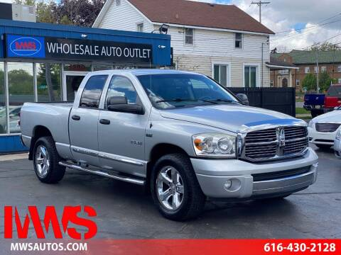 2008 Dodge Ram Pickup 1500 for sale at MWS Wholesale  Auto Outlet in Grand Rapids MI