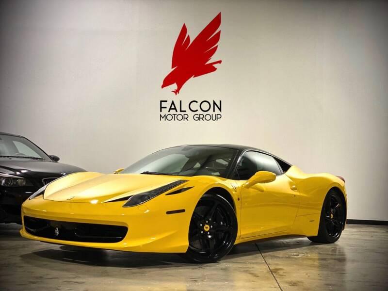 2010 Ferrari 458 Italia for sale at FALCON MOTOR GROUP in Orlando FL