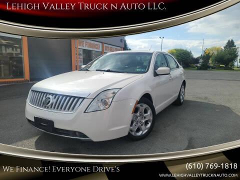 2010 Mercury Milan for sale at Lehigh Valley Truck n Auto LLC. in Schnecksville PA