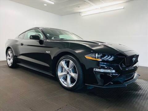2019 Ford Mustang for sale at Champagne Motor Car Company in Willimantic CT