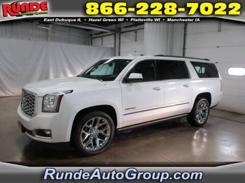 2020 GMC Yukon XL for sale at Runde Chevrolet in East Dubuque IL