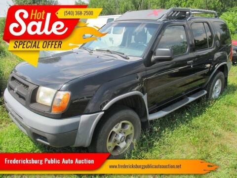 2000 Nissan Xterra for sale at FPAA in Fredericksburg VA