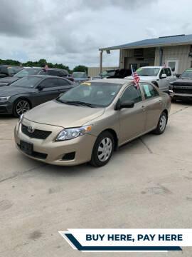 2009 Toyota Corolla for sale at GRG Auto Plex in Houston TX