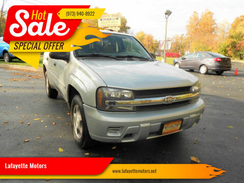2008 Chevrolet TrailBlazer for sale at Lafayette Motors 2 in Andover NJ