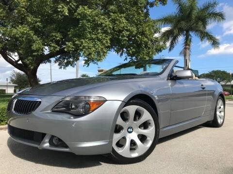 2006 BMW 6 Series for sale at DS Motors in Boca Raton FL