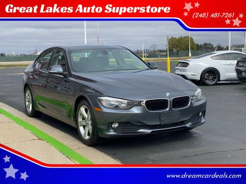 2013 BMW 3 Series for sale at Great Lakes Auto Superstore in Waterford Township MI