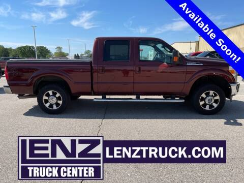 2015 Ford F-250 Super Duty for sale at LENZ TRUCK CENTER in Fond Du Lac WI