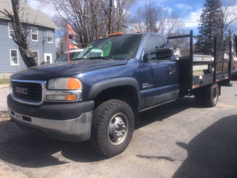 2002 GMC Sierra 3500 for sale at Connecticut Auto Wholesalers in Torrington CT